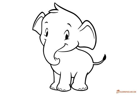 coloring pages  elephants   print