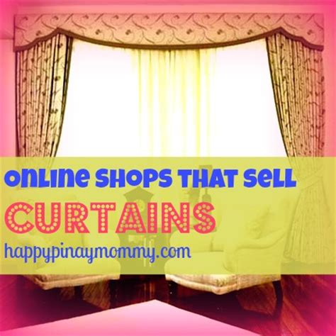 shops that sell curtains in the philippines happy