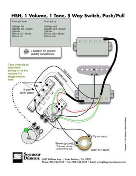 Reference Hsh Coil Split Tone Wiring Options