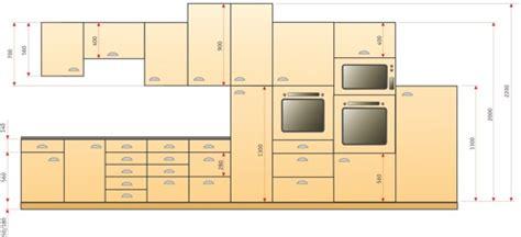 hauteur des meubles de cuisine hauteur meuble de cuisine cuisine en image