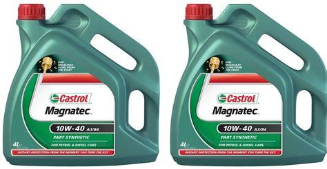 Castrol Magnatec 10w40 4 Litre Oil Semi Synthetic A3 B4