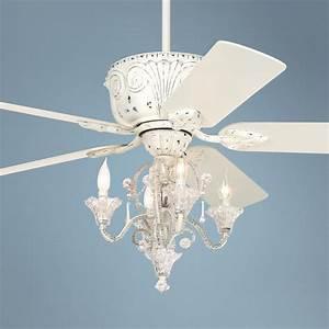 Top ceiling fan chandelier combo of warisan lighting