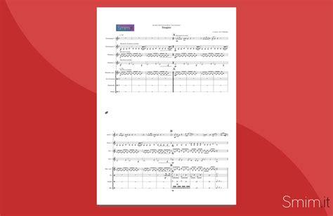 Happy Lennon Testo by Imagine Di Lennon Spartito Per Ensemble Di Percussioni