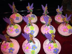 Tinkerbell Cupcakes | Girls party 2014 | Pinterest