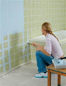 Fliesenfarbe Für Bodenfliesen : badezimmer fliesen streichen erfahrungen alle ideen ber ~ Michelbontemps.com Haus und Dekorationen