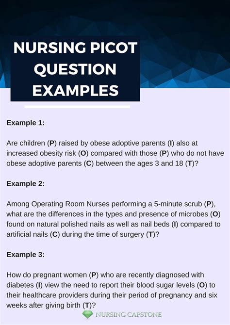 nursing picot question examples     ready