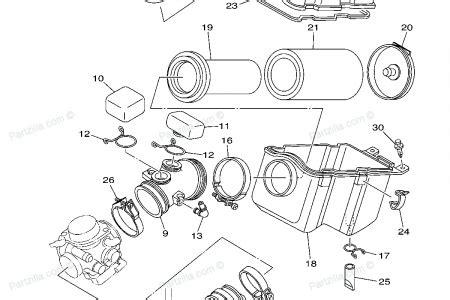 yamaha grizzly 600 parts diagram automotive parts diagram images