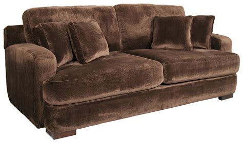 fairmont designs riviera comfortable sofa with plush