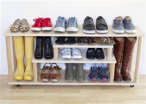 diy shoe rack 10 diy simple shoe rack ideas diy and crafts