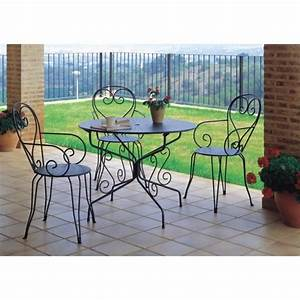 Table Pliante Bricorama : table de jardin romantique en fer forg avec trou with ~ Melissatoandfro.com Idées de Décoration