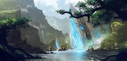 Fantasy Nature River Games Desktop Background Wallpapers