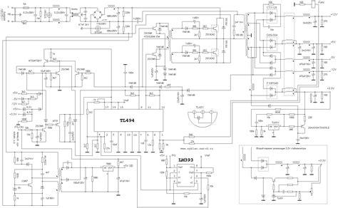 atx psu turned   adjustable voltage bench supply