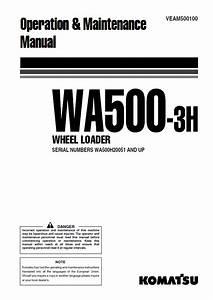 Komatsu Wheel Loader Wa500