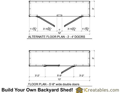 8x16 shed floor plan 3x12 lean to shed plans 3x12 shed plans