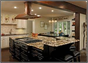 top kitchen ideas granite top kitchen island with seating home design ideas