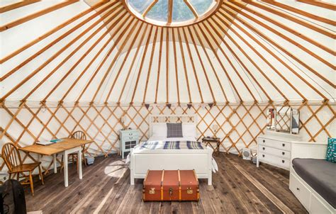 Larch Yurt   The Yurt Retreat