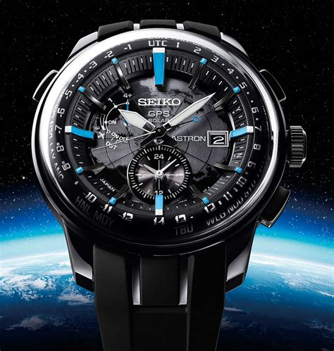 Seiko Astron Solar Gps Watch New Design Added For 2014