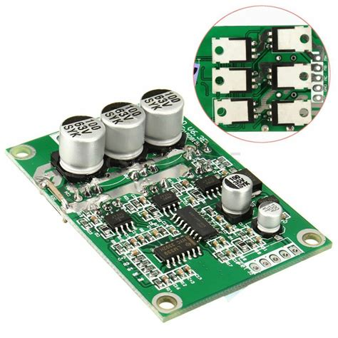 new 12v 24v 36v 500w brushless motor controller motor balanced car driver board ebay