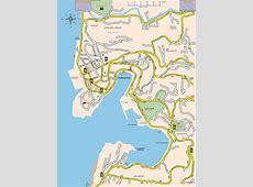 St George Map, St George Grenada
