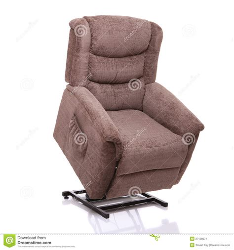 Rise And Recline Chair, Fully Lifted Stock Image Image