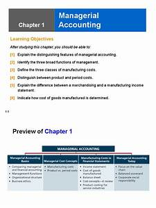 managerial accounting chapter 1 slides With management accounting documents