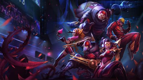 skt  zed vayne zyra lee sin jax lol splash art league