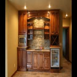 Small Home Corner Bar Ideas Image