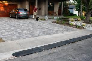 Rubber Driveway Curb Ramps