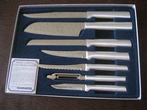 rada kitchen knives rada cutlery s38 starter 7 pc knife set the gift