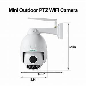 Sv3c 1080p Outdoor Ptz Wifi Security Camera Pan Tilt Zoom