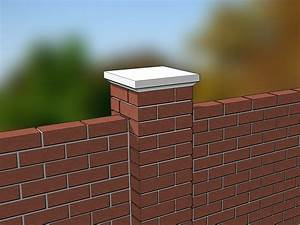 How To Build A Brick Wall  With Pictures