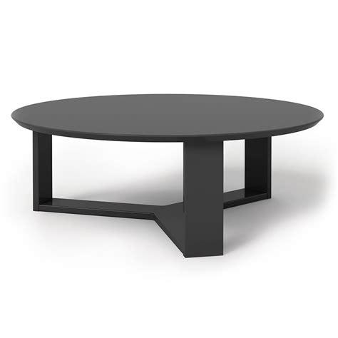 3er set coffee tables carmen round black metal solid mango nesting sofa. Markel Modern Black Coffee Table | Eurway Furniture