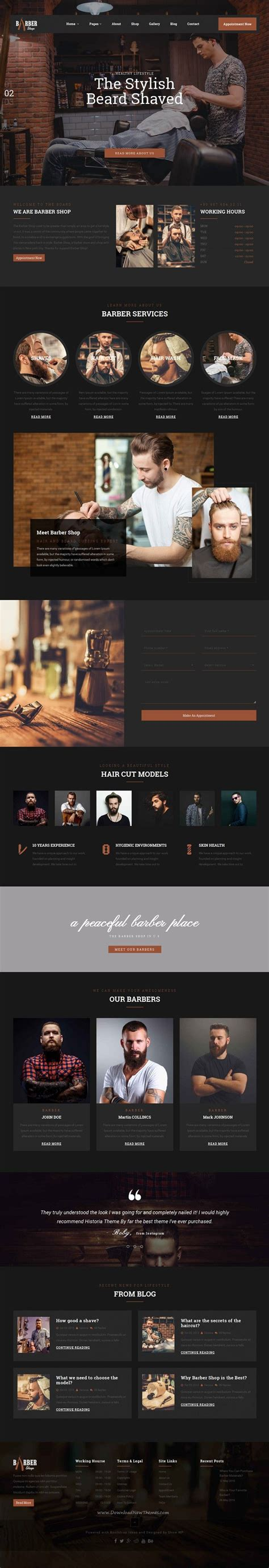 big salon beauty barber site template 25 best ideas about good hair salon on pinterest salon