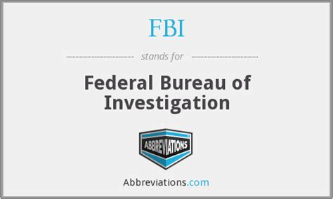 fbi bureau of investigation fbi federal bureau of investigation