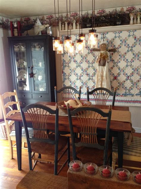 small rustic dining room spaces with creative diy hanging