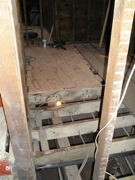 ways to level a floor what you think about my way of leveling floor joists