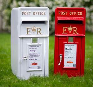 traditional day in office invitation wedding post box adela rosa
