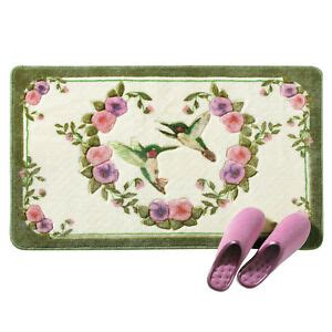 Hummingbird Rug by Hummingbird Floral Bath Accent Rug By Collections Etc Ebay