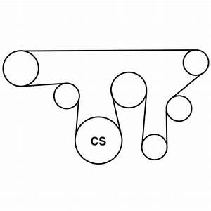 Gmc Envoy Xl Belt Routing Diagram From Best Value Auto Parts