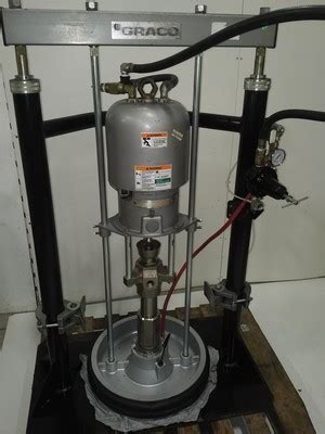 Bolair   USED Graco Two Post Ram Drum Pump