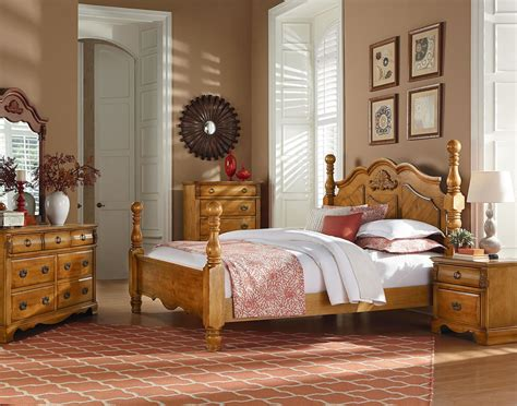 Standard Furniture Georgetown Poster Bedroom Set In In Red Kitchen Table Set Matelasse Linens Rent For Wedding Reception Design Children's Vanity Wood Tables And Chairs Ways To A Round Ideas