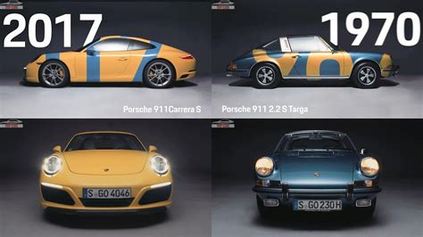 top cars porsche  design evolution