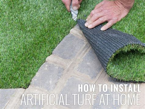 install artificial turf  home turf pros solution