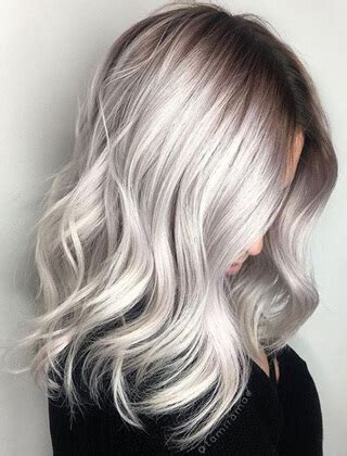 Waht Colour Makeup With Ashgreyish Hair Ecosia