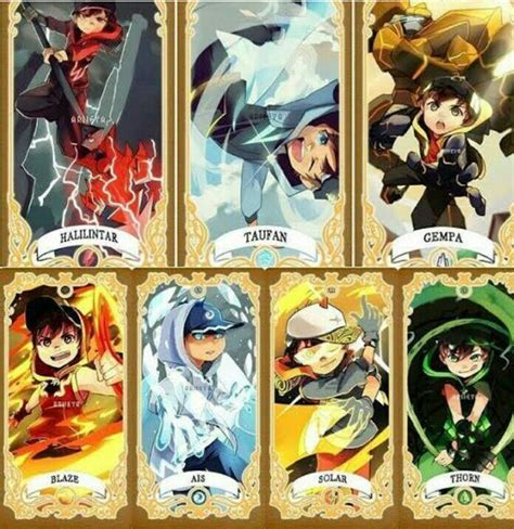 Oh yeh, we actually don't know anything. Pin di Boboiboy