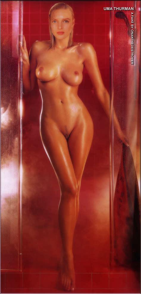 Uma Thurman Naked Mature Excelent Porn