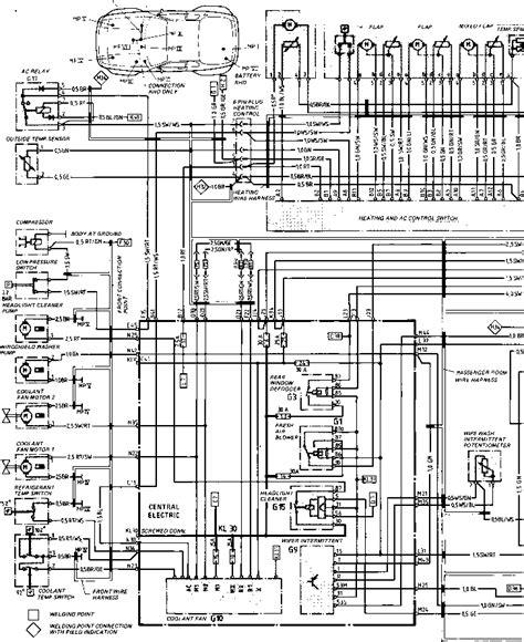 944 Porsche Ac Wiring Diagram by Wiring Diagram Type 944944 Turbo Model 852 Page Porsche