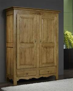 Armoire Chene Massif : armoire ~ Teatrodelosmanantiales.com Idées de Décoration