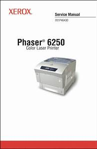 Xerox Phaser 6250 Printer Complete Service Manual 474 Page