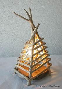 Lampe Chevet Bois Flotté : les 25 meilleures id es concernant lampe en bois flott sur pinterest lampe corde id es ~ Teatrodelosmanantiales.com Idées de Décoration